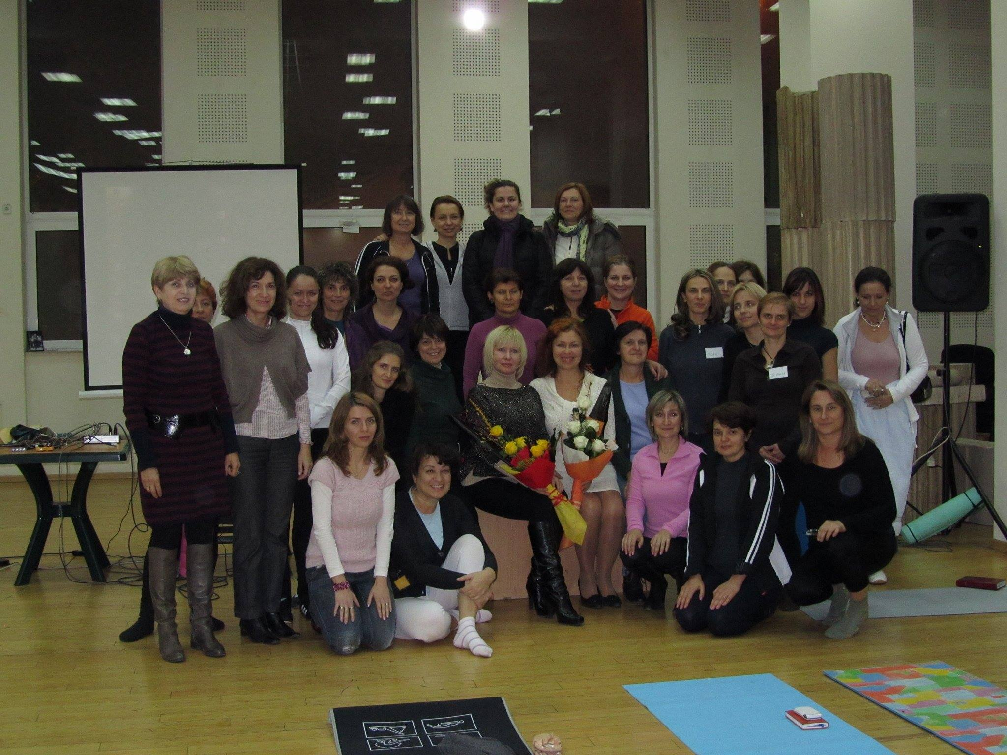 Първи семинар по САТ в България с Дария Ларина и Ирина Тихомирова София, ноември 2011г.